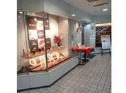 お店は京阪三条北ビルの地下1階♪ 三条駅から徒歩1分程度で到着します◎