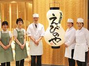あっつあつ、サックサクの天ぷらが大人気♪ オシゴトはスグにできるものばかりなので、安心です◎