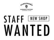 2018年春OPEN、THE OUTLETS HIROSHIMAに『FUKUNARY』が出店! オープニングなので、一緒にお店を作っていきましょう!