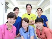 受付/歯科助手は10~40代の女性Staff9人でお仕事しています◎ 慣れるまでは先輩がサポートするので安心♪
