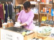 肌に優しいスキンケア用品がそろっています◎ソープを泡立てる実演販売も♪心地よい感触と香りでリラックスできちゃいます…☆*