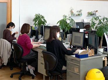"""「週3日」「土日は定休」「残業なし」と、 安心して長くお仕事ができる会社です♪ """"程よくお仕事がしたい方""""にピッタリ◎"""