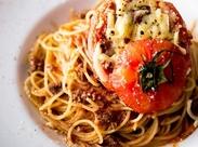 ラクレットチーズ、石鍋生パスタ…♪ 人気メニューのレシピを知れる、作れる、まかないで食べられます★