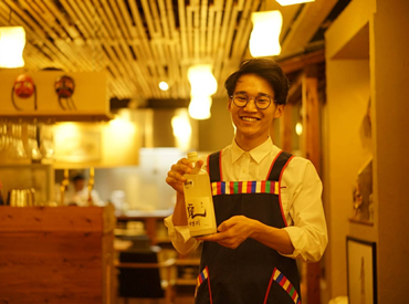 """【ホール】《 """"韓国料理専門店 韓味一 朴邸"""" で楽しく働くチャンス♪》落ち着いた店内でしっかりとした接客ができます!"""