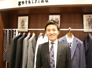 【gotairiku販売スタッフ】人気スーツブランドの、「gotairiku」はモダンなブリティッシュスタイルを提案♪―あなたのセンスに磨きをかけるチャンス!!
