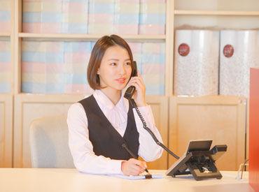 お仕事は予約受付や簡単な書類作成など、 未経験の方も大丈夫◎ 先輩STAFFが丁寧にフォローいたします♪