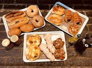 1時間ごとの焼きたてパンが大好評♪子供から年配の方まで、幅広い世代に愛されています◎人気の味を一緒にお届けしませんか☆