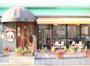 レトロでかわいいおしゃれなお店★ こだわりのインテリアの中で気分も楽しく働けます♪