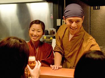 【キッチンSTAFF】気軽にワイン、串揚げを楽しめる新しいスタイルの居酒屋バル―。「包丁を握るのが初めて…」>>そんな方もWelcome♪