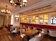 リピーター多数★本場フランスのカフェをイメージした店内では落ち着いた時間が流れます♪*まかない&社割あり◎