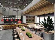≪敷居が高くてお堅いイメージはNO!≫ ランチ、カフェ、バータイムと1日を通じて楽しめる場を提供しています◇*.~