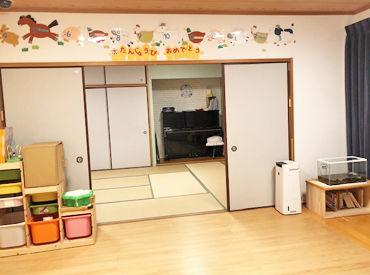 丹波篠山市の遊技施設内に併設の 企業主導型保育園です◆* 2018年オープンしたばかりなので綺麗で新しい施設で働けます♪