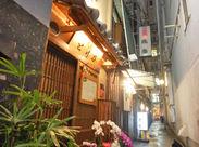 心斎橋駅7番出口より徒歩5分! 知る人ぞ知る人気店でお仕事しませんか♪