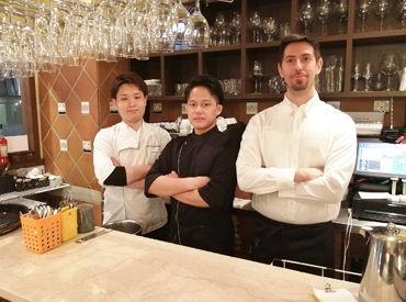 日本にいながら「Chao!」なんて話したり♪ オーナーはイタリア出身なので、 イタリア語も教えて貰えるかも…!