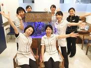 清潔感が溢れる院内♪スタッフ同士の関係性も良く、全員であなたを歓迎します!ぜひ一緒に働きましょう!<学生OK>