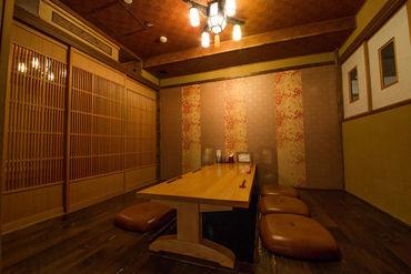 創作和食が楽しめる和風ダイニング♪ 蔵や長屋が立ち並ぶ城下町をイメージした 趣きある店内が、古き良き日本を演出…*