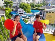 (1)プールでの監視スタッフのお仕事!7月からは室外プールもオープンするので通年で働けますよ!!
