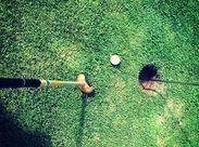 勤務期間の相談もOK♪ゴルフに興味がある方、無い方、どちらも大歓迎(*^^*)お気軽にご応募ください♪