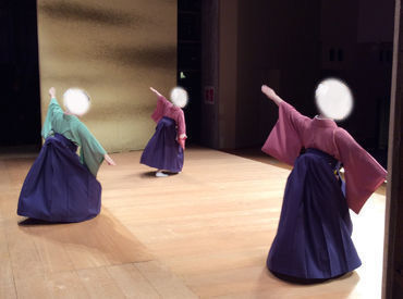~ 日本舞踊の奥深さに魅了されていきます ~ 裏方ですが、とっても大切なお仕事ですよ。