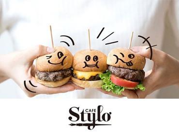 ■□ CAFE Stylo(カフェ スティロ) □■ 赤いクリップの看板が目印の伊東屋ビル12F。 高級ブティックが立ち並ぶ銀座のカフェ。