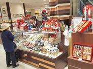 京橋駅直結の京阪モールでお仕事!! 人気のチョコレートのお店で販売デビュー♪ 働く前にしっかり相談できますよ☆