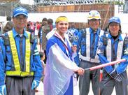 佐賀市周辺で行われるイベント警備のオシゴトもあります♪たのしく働きたい人大歓迎です☆