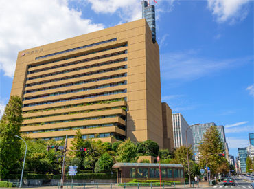 【見回り・出入管理】綺麗なオフィスビルの安全をKEEP◎20~50代STAFFが絶賛活躍中(。・ω・)ノ初月から月給32万円の方もいます!