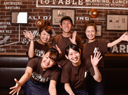 ★Beer Cafe Restaurant ATHREE PARLOR★同年代の仲間が楽しく活躍中です!