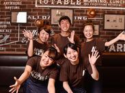 ★Beer Cafe Restaurant ATHREE PARLOR★オープン1周年の新しいお店♪同年代の仲間が楽しく活躍中です!