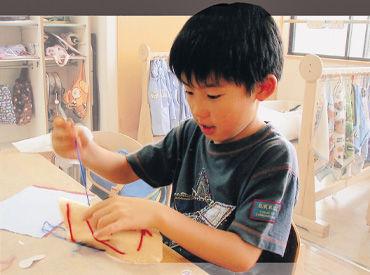 子ども達の個性や創造力を 伸ばすお手伝いをしませんか♪