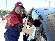アルバイトといえばガソリンスタンドはお馴染み! ワイワイ職場◎毎日楽しく働いています♪