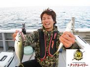 プライベートでは釣り好きメンバーで遊びに行くこともあります♪ バイトを始めてから釣りにはまったスタッフも★