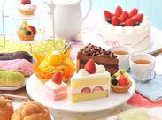うれしい特典☆おいしいスイーツやお友達への誕生日ケーキを社割で買えます♪直営レストラン・カフェも割引価格で利用OK♪