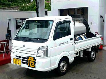 配送用ミニローリー車での配送をお願いします☆(MT車となります)