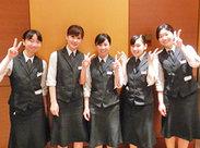 ≪岡山駅近≫冬に向けて、憧れのパーティー会場で働こう♪ 未経験◎女性STAFFも多数活躍★ 将来役立つ マナーも自然と身に付く♪