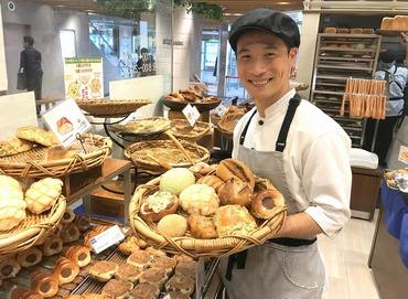 スタッフ同士もとっても仲がいいので、 試食したパンの感想を言いあったり、 オススメのパンを紹介しあったりもしています♪*