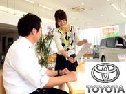 安心の「トヨタグループ」♪女性スタッフ活躍中! 早上りや急なお休みも相談OK☆ 子育て中のママさんも、安心して働けますよ♪