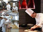 和洋中ほかレストラン&バーは12ヵ所。きっとお気に入りがあるはず。様々なサービスや調理技術が習得出来ます。