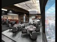 …― 渋谷の街を一望できるお店 ―… 11/1にグランドオープンする「渋谷スクランブルスクエア」内の店舗です!