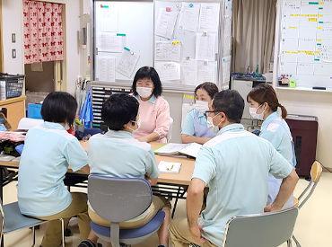 \長く安心して働けます★/ 健康診断が無料♪ インフルエンザ予防注射や 婦人科検診なども無料で受けられます◎
