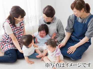 ▼床はなんと【畳】です! 子どもたちの安全はもちろん 膝立ちが多いスタッフからも 「膝が痛くない!」と好評♪