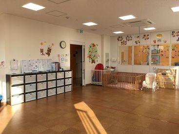 イベントが沢山あるマンモス園と異なり 託児所のような家庭的な保育が中心! 制作物の準備に追われる… ということもありません*