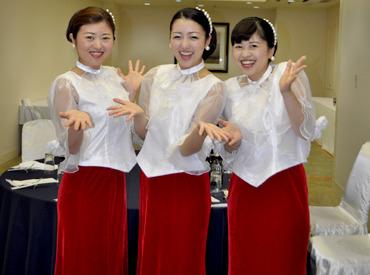 制服貸与☆かわいい制服を様々ご用意してます♪ パーティーに応じて様々な制服が着れるのも楽しく働けるPOINT☆
