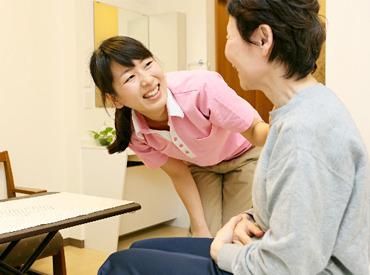 【施設介護スタッフ】家事に忙しいあなたでも、スキマ時間に働けます◎突然のお休みもお気軽にご相談ください.。*゚まずは施設見学からどうぞ♪