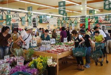 """畑とつながる食品スーパー「長野県A・コープ」 """"長野県産""""""""地元産""""にこだわった採れたての生鮮食品を扱っています♪"""