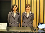 落ち着いた空間で幅広いお客様から人気のホテルです◎ 20~40代のスタッフ活躍中です!!