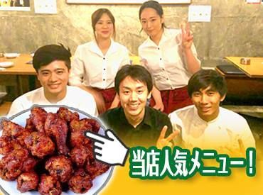 【韓国料理STAFF】韓国好きにはたまらないっ!店内はK-POPが流れていてそれだけでもテンションMAX↑好きな空間の中で楽しくお仕事しませんか?