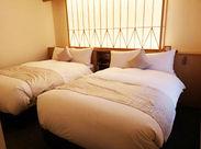 ≪和モダンなプチホテル★≫先輩スタッフがいるので、安心してください!15部屋なのもPOINT♪※写真はイメージです