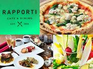 街の中のオアシス!癒しの隠れ家Cafe♪こだわりのイタリアン料理が自慢◎店内の石窯で焼くピッツァは特に大人気です★