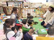たくさんの子どもたちに囲まれて働こう☆*。 子どもの成長を身近に感じられるお仕事です♪